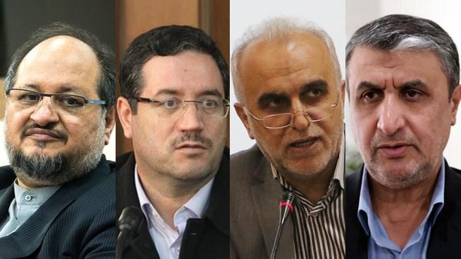 نمایندگان مجلس شورای اسلامی پس از حدود 10 ساعت بحث و بررسی، به هر چهار گزینه پیشنهادی حسن روحانی رای مثبت دادند.