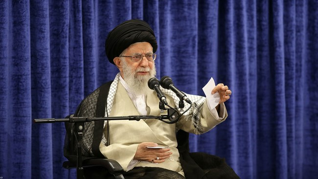 رهبر معظم انقلاب اسلامی در دیدار مسئولان و کارگزاران نظام: دولت با کمک بخش خصوصی حرکت عظیم اشتغالزا و تولید آفرین بوجود آورد