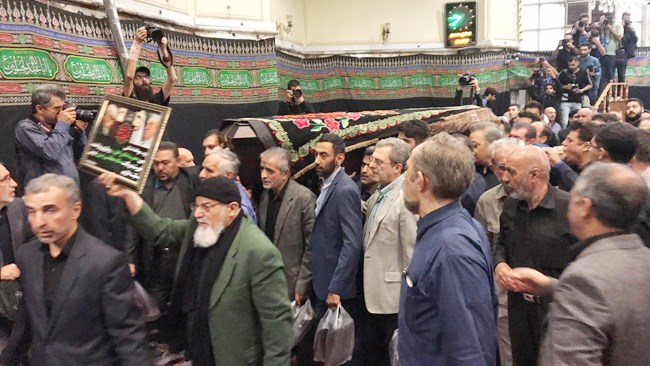 مراسم تشییع پیکر مرحوم اسدالله عسگراولادی صبح امروز با حضور جمعی از فعالان اقتصادی، مقامهای سیاسی و چهرههای مذهبی در مسجد فرشته تهران برگزار شد.