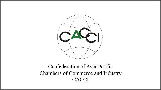 برنامه جوایز کنفدراسیون اتاقهای بازرگانی و صنعت آسیا-اقیانوسیه (CACCI) همزمان با سی و چهارمین اجلاس سالانه این کنفدراسیون نوامبر 2020 در چهار محور بانوان کارآفرین برتر، اتاقهای محلی برتر، جوانان کارآفرین برتر و انرژی آب و انرژی پاک برگزار میشود.